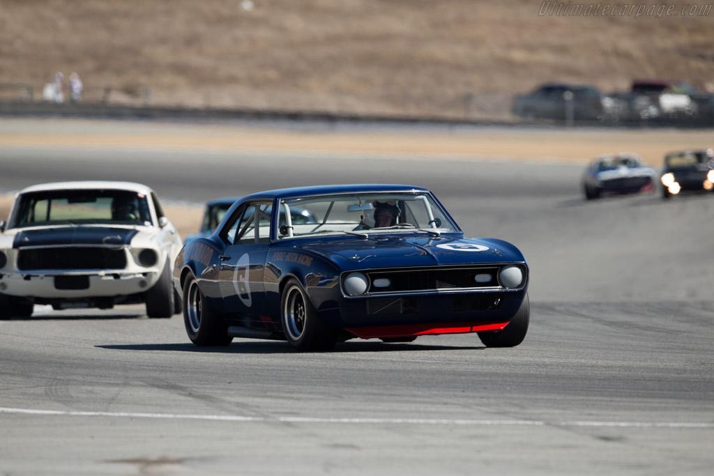 Chevrolet Camaro Z/28  - Driver: Tom McIntyre  - 2015 Monterey Motorsports Reunion