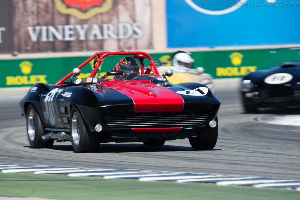 Chevrolet Corvette - Chassis: 40867S106991 - Driver: Jerry Gollnick  - 2015 Monterey Motorsports Reunion