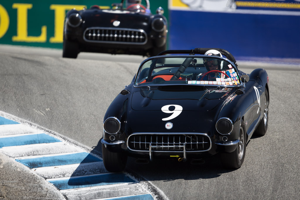 Chevrolet Corvette - Chassis: E57S105346 - Driver: Bob Paterson  - 2015 Monterey Motorsports Reunion