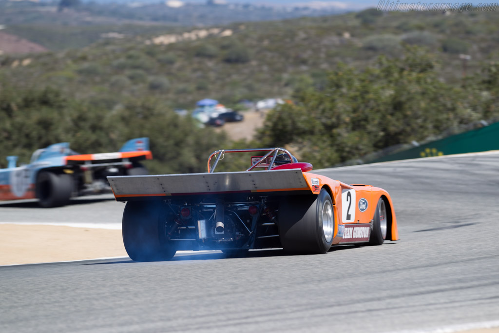 Chevron B23  - Driver: Duncan Dayton  - 2015 Monterey Motorsports Reunion