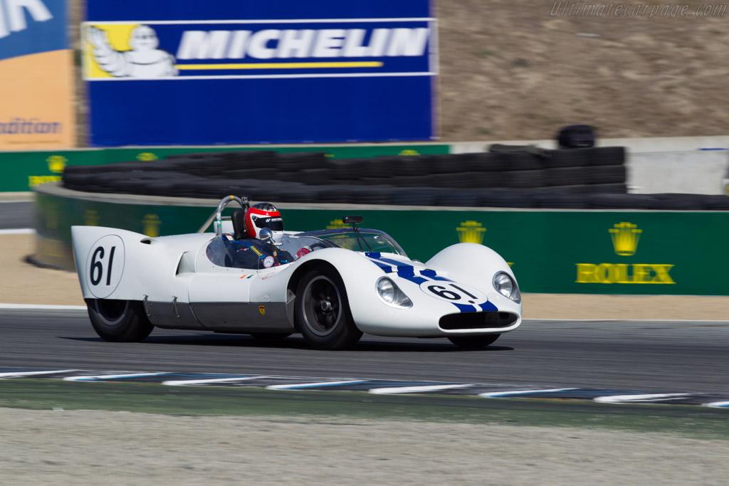 Cooper Monaco Mk III - Chassis: CM-3-61 - Driver: Jeffrey Heller  - 2015 Monterey Motorsports Reunion