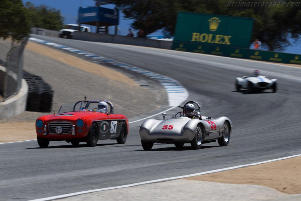 Cooper Porsche 'Pooper' Special - Chassis: Mk7-7-53 - Driver: Cameron Healy  - 2015 Monterey Motorsports Reunion