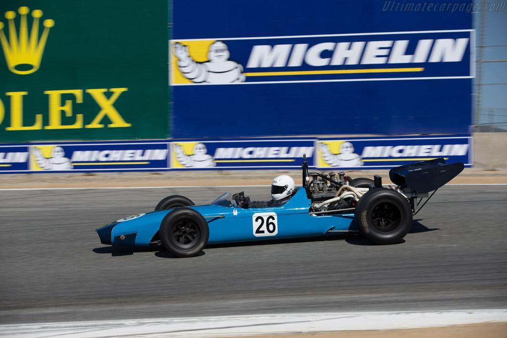 Crossle 15F - Chassis: C15F6840 - Driver: Timothy Osborne  - 2015 Monterey Motorsports Reunion