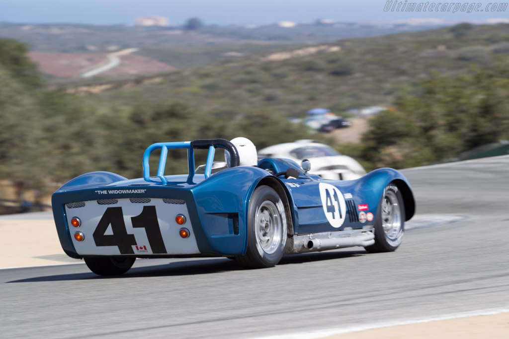Dailu Mk2 - Chassis: Mk2 - Driver: Greg Meyer  - 2015 Monterey Motorsports Reunion