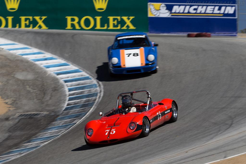 Datsun 2000 Roadster  - Driver: Craig Carter  - 2015 Monterey Motorsports Reunion