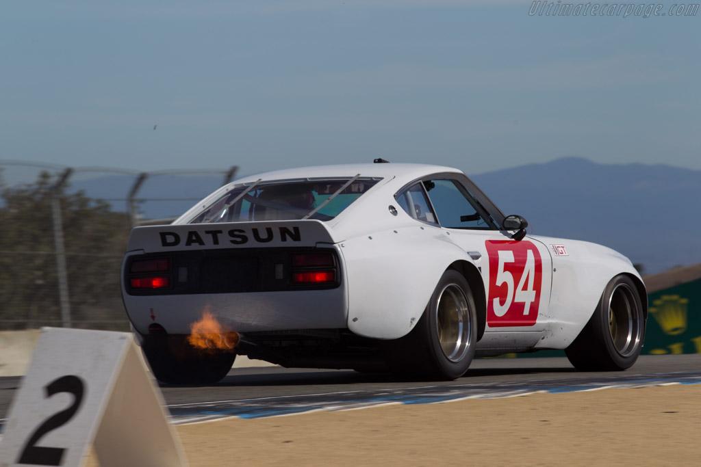 Datsun 240Z  - Driver: Larry Oka  - 2015 Monterey Motorsports Reunion