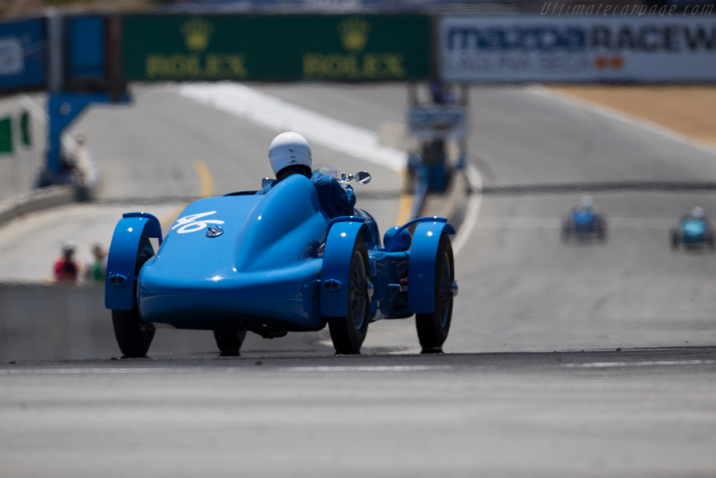 Delage D6 - Chassis: 880004 - Driver: Timothy Mullin  - 2015 Monterey Motorsports Reunion