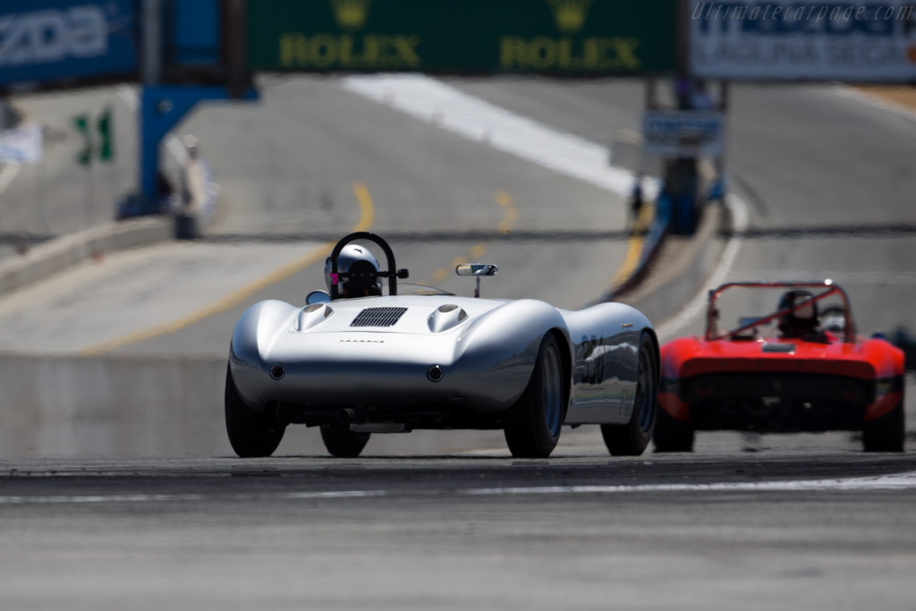 Devin Porsche 356 - Chassis: 80356 - Driver: Gregory Campbell  - 2015 Monterey Motorsports Reunion