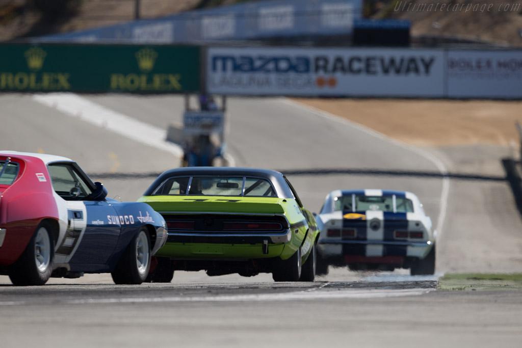 Dodge Challenger  - Driver: Richard Goldsmith  - 2015 Monterey Motorsports Reunion