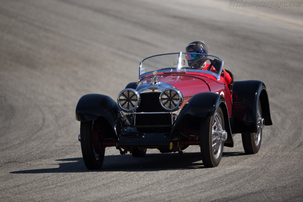 Duesenberg A Brandfon Speedster - Chassis: 783 - Driver: David Lockwood  - 2015 Monterey Motorsports Reunion