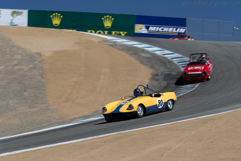 Elva Courier Mk3  - Driver: Joe Gordon  - 2015 Monterey Motorsports Reunion