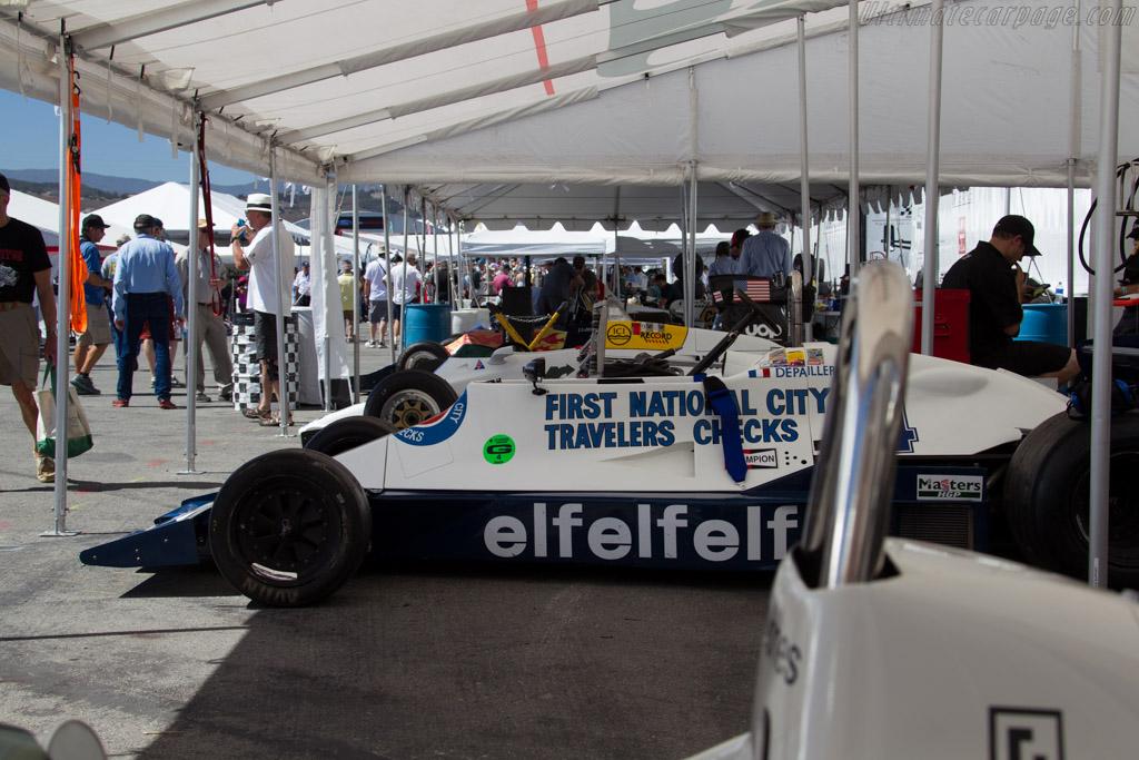 F1 paddock    - 2015 Monterey Motorsports Reunion