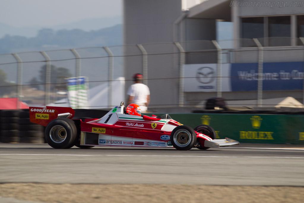 Ferrari 312 T2 - Chassis: 026 - Driver: Chris MacAllister  - 2015 Monterey Motorsports Reunion
