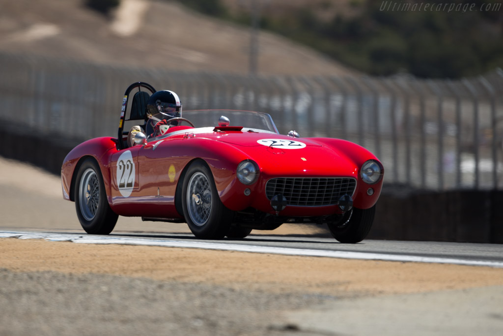 Ferrari 500 Mondial Pinin Farina Spyder - Chassis: 0408MD - Driver: Jeffrey Abramson  - 2015 Monterey Motorsports Reunion