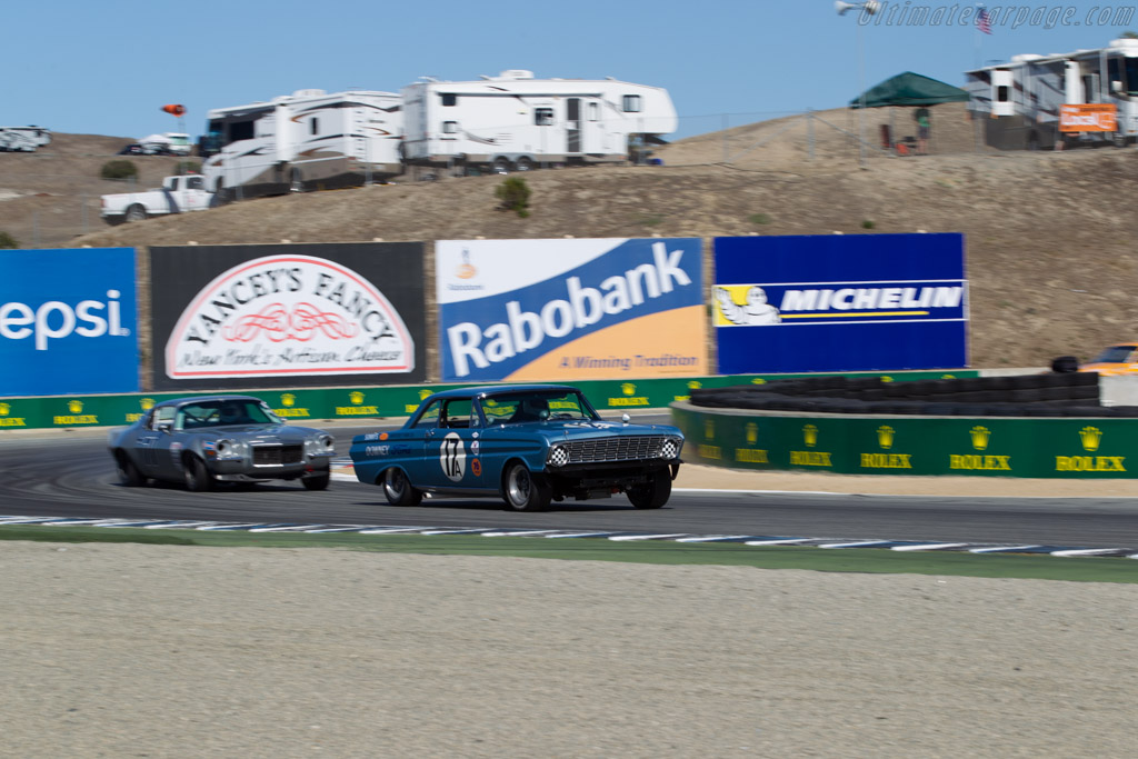 Ford Falcon  - Driver: Mike Eddy  - 2015 Monterey Motorsports Reunion
