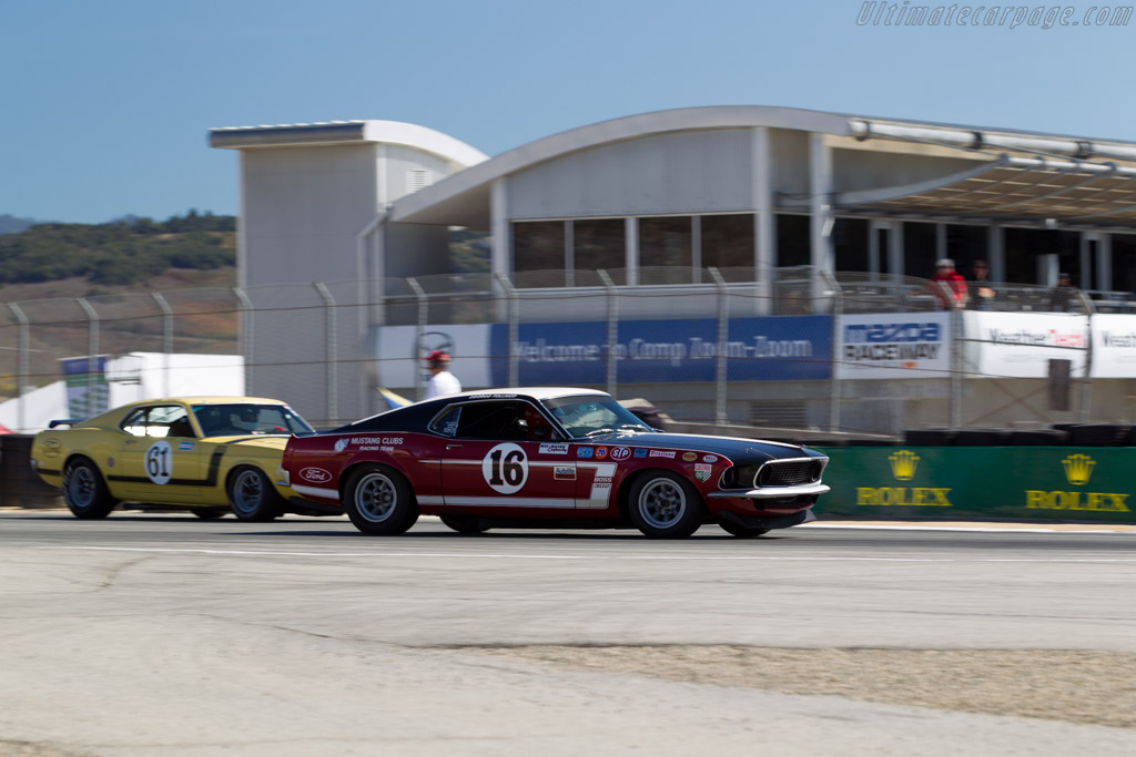 Ford Mustang - Chassis: 9F02M1486 - Driver: Vic Edelbrock  - 2015 Monterey Motorsports Reunion