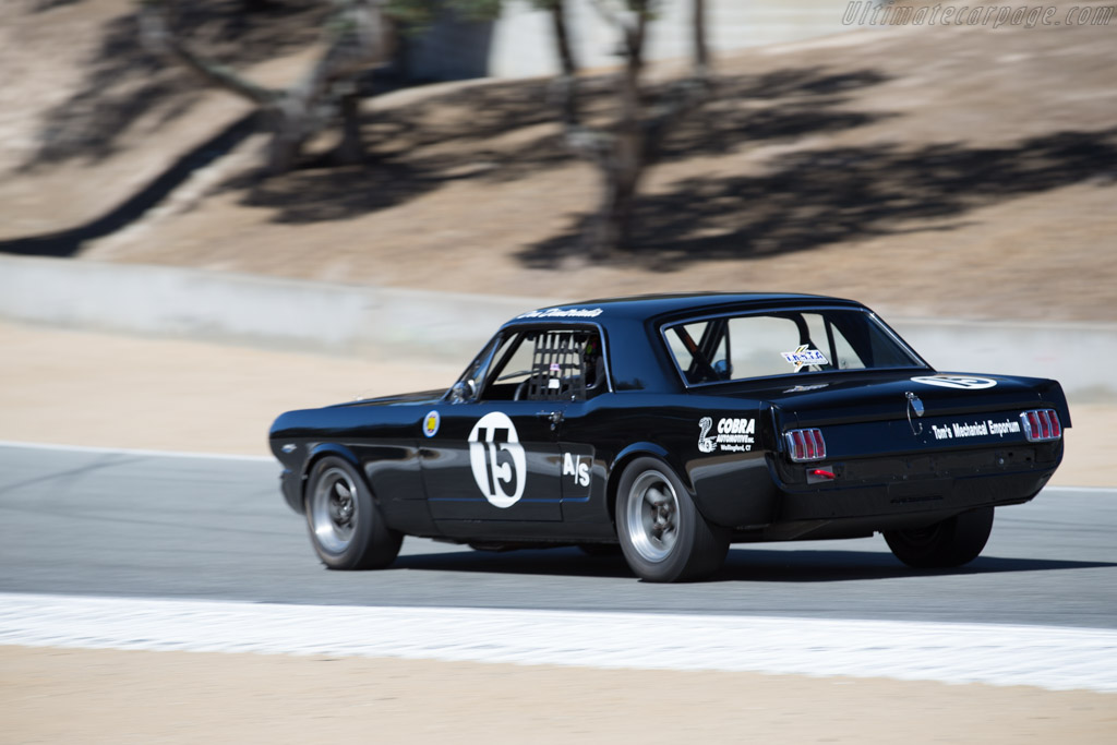 Ford Mustang - Chassis: 5F07K282924 - Driver: Don Dimitriadis  - 2015 Monterey Motorsports Reunion
