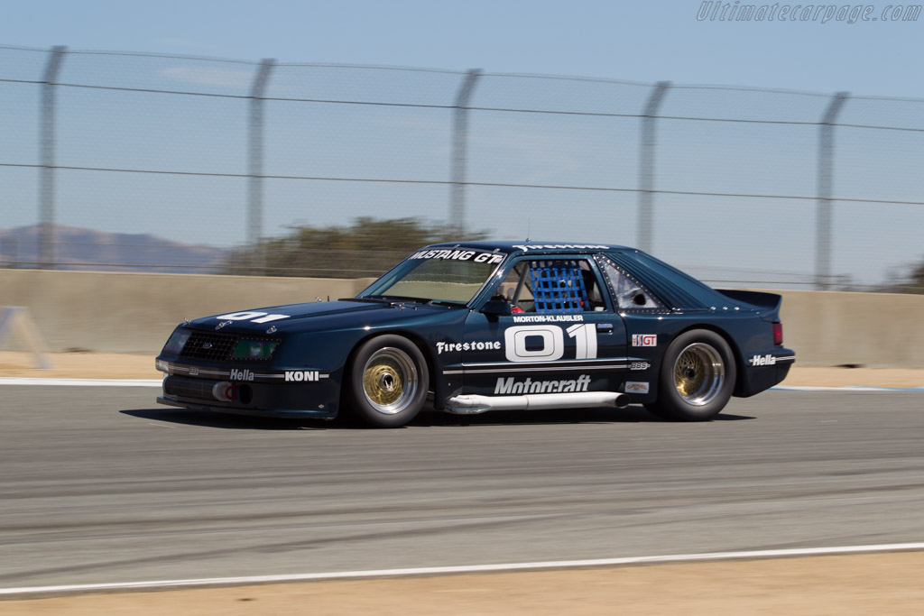 Ford Mustang - Chassis: 1 - Driver: Ross Myers  - 2015 Monterey Motorsports Reunion