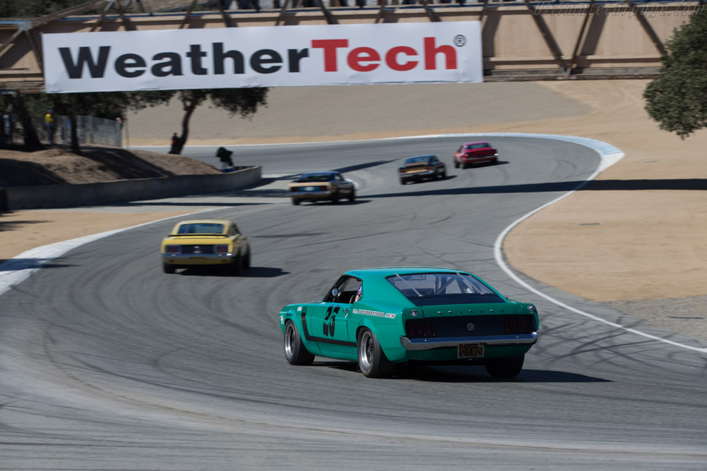 Ford Mustang BOSS 302 - Chassis: 72AS34 - Driver: Craig Conley  - 2015 Monterey Motorsports Reunion
