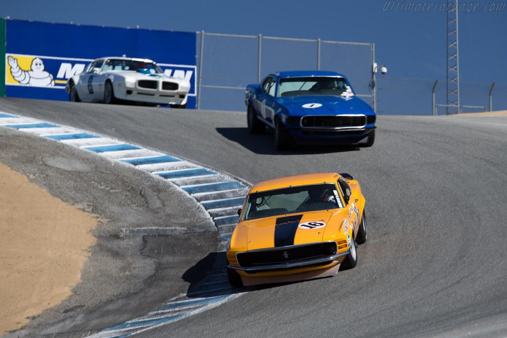 Ford Mustang BOSS 302  - Driver: Jim Click  - 2015 Monterey Motorsports Reunion