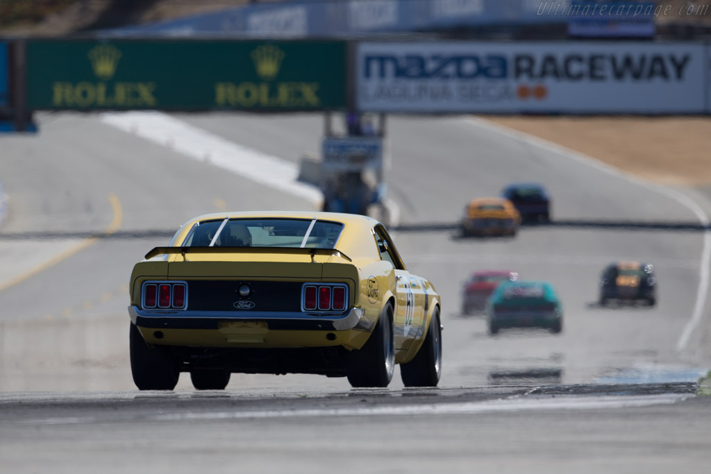 Ford Mustang BOSS 302 - Chassis: 0F02G144375 - Driver: Jim Halsey  - 2015 Monterey Motorsports Reunion