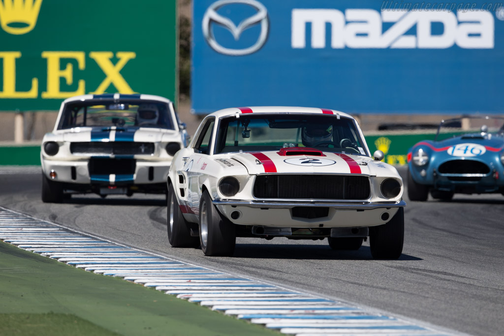 Ford Shelby Mustang - Chassis: 7RC1K188183 - Driver: Philippe Mulacek  - 2015 Monterey Motorsports Reunion