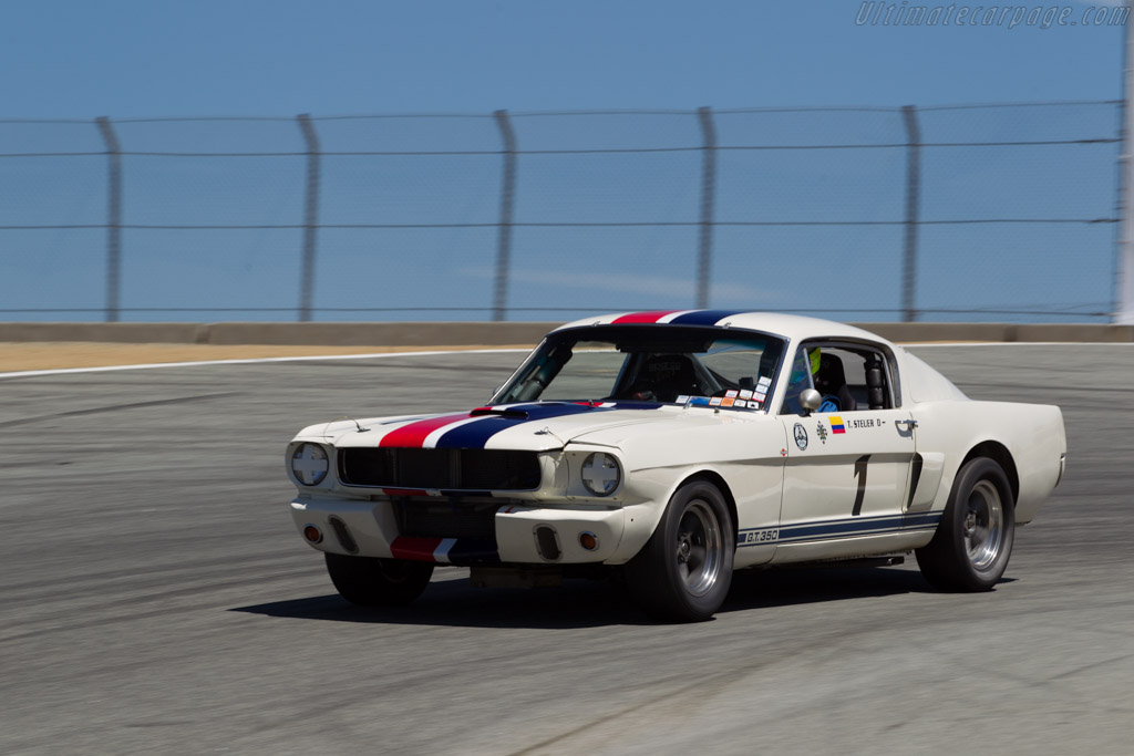 Ford Shelby Mustang GT350 - Chassis: SFM6S031 - Driver: Tommy Steuer  - 2015 Monterey Motorsports Reunion