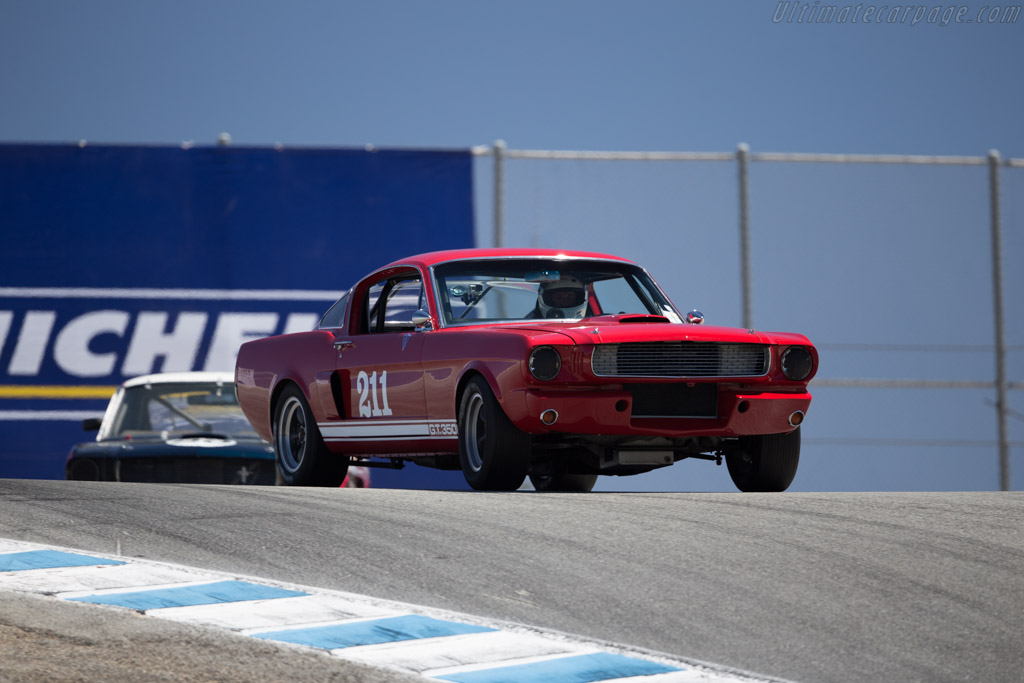 Ford Shelby Mustang GT350 - Chassis: SFM6S1104 - Driver: Jim Hague  - 2015 Monterey Motorsports Reunion