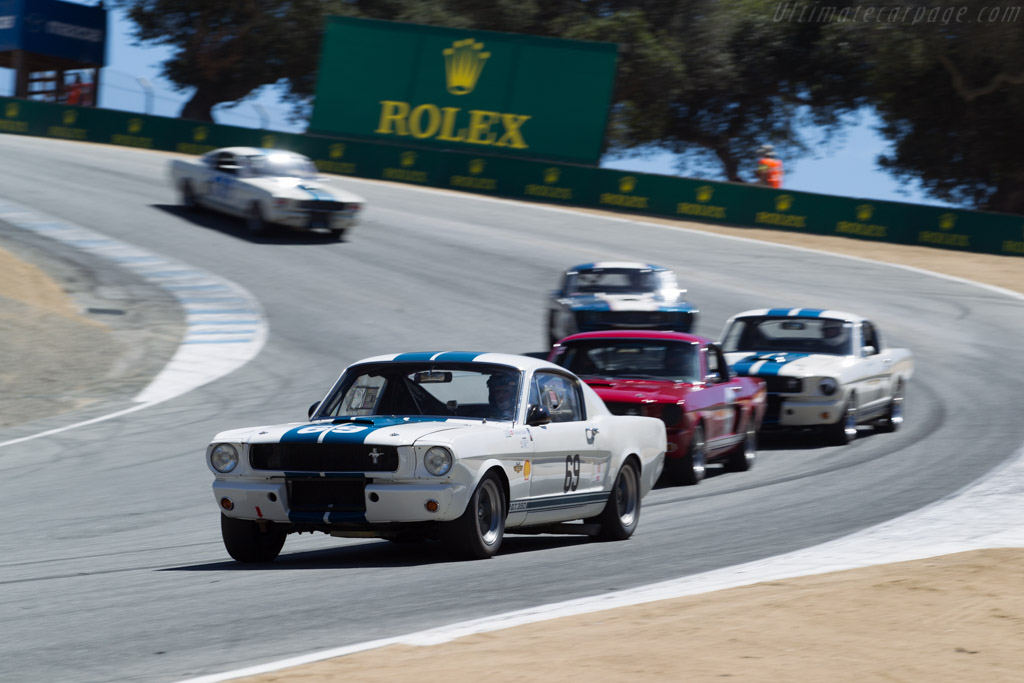 Ford Shelby Mustang GT350 - Chassis: SFM6S508 - Driver: Thomas Studer  - 2015 Monterey Motorsports Reunion