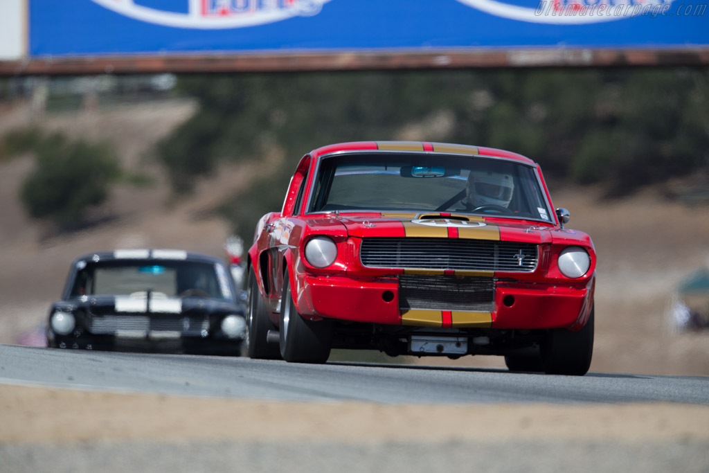Ford Shelby Mustang GT350 - Chassis: SFM6S644 - Driver: Nick de Vitis  - 2015 Monterey Motorsports Reunion