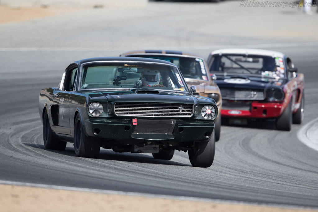 Ford Shelby Mustang GT350 - Chassis: SFM6S1041 - Driver: Gilbert Hakim  - 2015 Monterey Motorsports Reunion