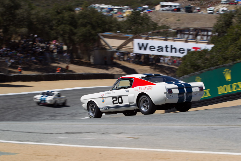Ford Shelby Mustang GT350 R - Chassis: SFM5R103 - Driver: Ross Myers  - 2015 Monterey Motorsports Reunion