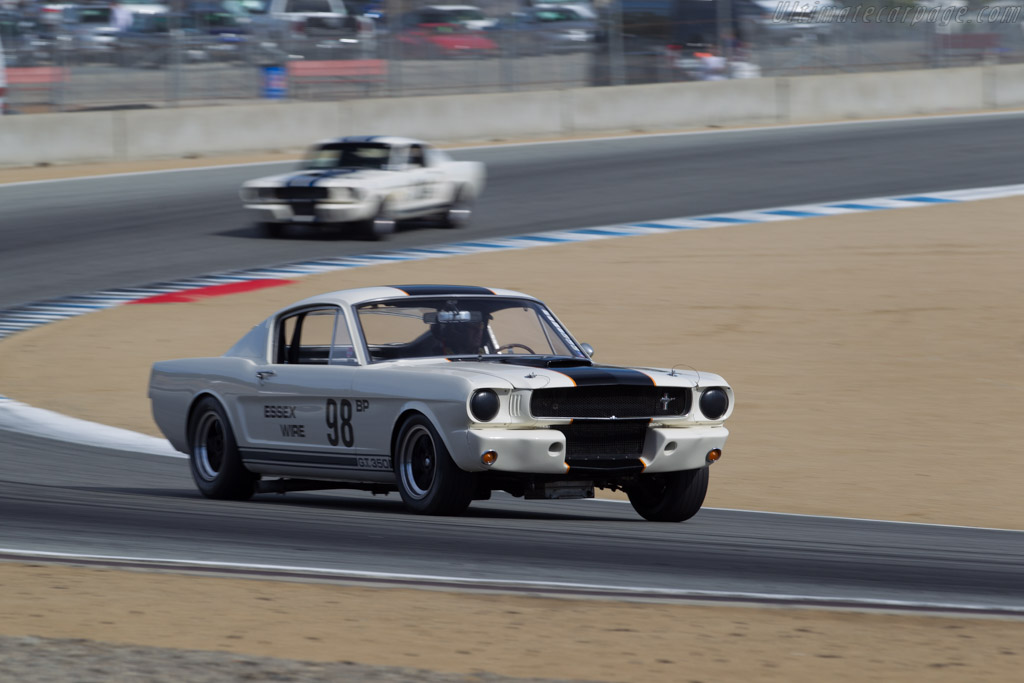 Ford Shelby Mustang GT350 R - Chassis: SFM5R098 - Driver: Martin Beaulieu  - 2015 Monterey Motorsports Reunion
