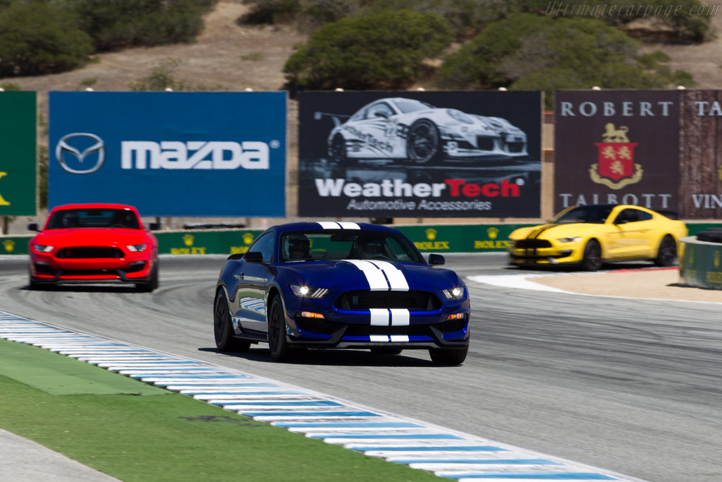 Ford Shelby Mustang GT350 R    - 2015 Monterey Motorsports Reunion