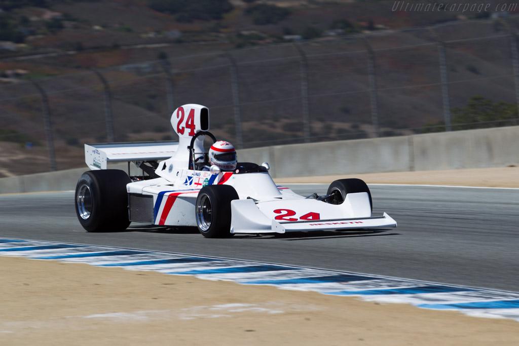 Hesketh 308  - Entrant: Fredric Fatien - Driver: Ron Maydon  - 2015 Monterey Motorsports Reunion