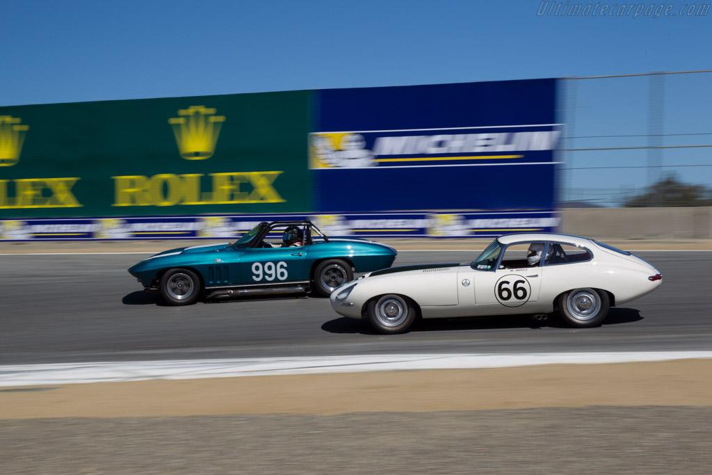 Jaguar E-Type - Chassis: 885334 - Driver: Michael Doyle  - 2015 Monterey Motorsports Reunion