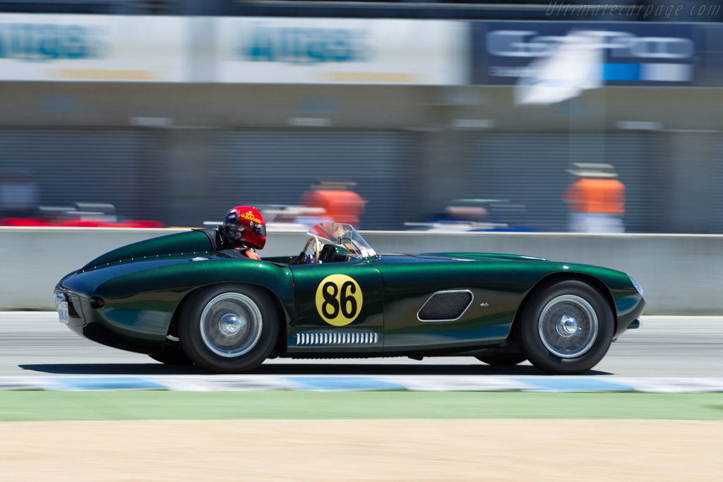 Jaguar Hagemann Special  - Driver: Bernard Juchli  - 2015 Monterey Motorsports Reunion