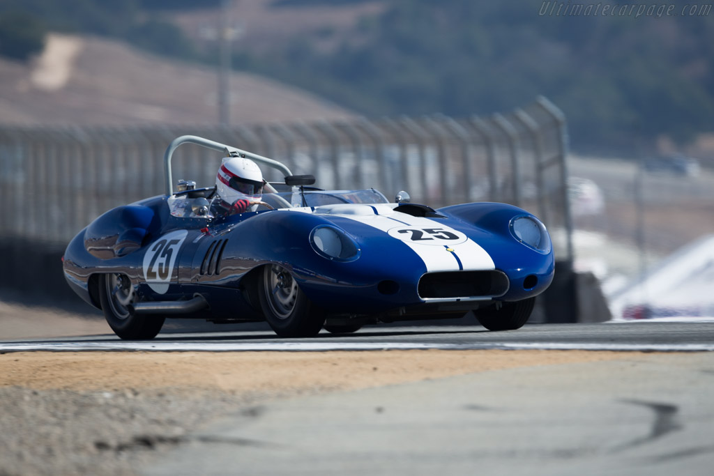 Lister Costin Chevrolet - Chassis: BHL 132 - Driver: Erickson Shirley  - 2015 Monterey Motorsports Reunion