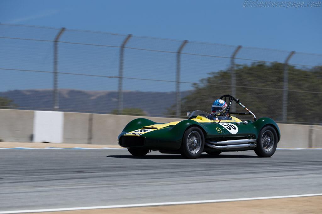 Lister Maserati - Chassis: BHL 1 - Driver: John 'Chip' Fudge  - 2015 Monterey Motorsports Reunion
