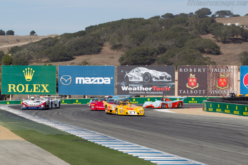 Lola T290 - Chassis: HU26 - Driver: Keith Frieser - 2015 Monterey Motorsports Reunion