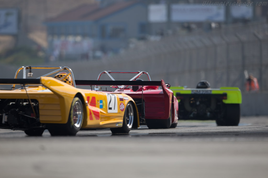Lola T294 - Chassis: HU75 - Driver: Wide Carter  - 2015 Monterey Motorsports Reunion