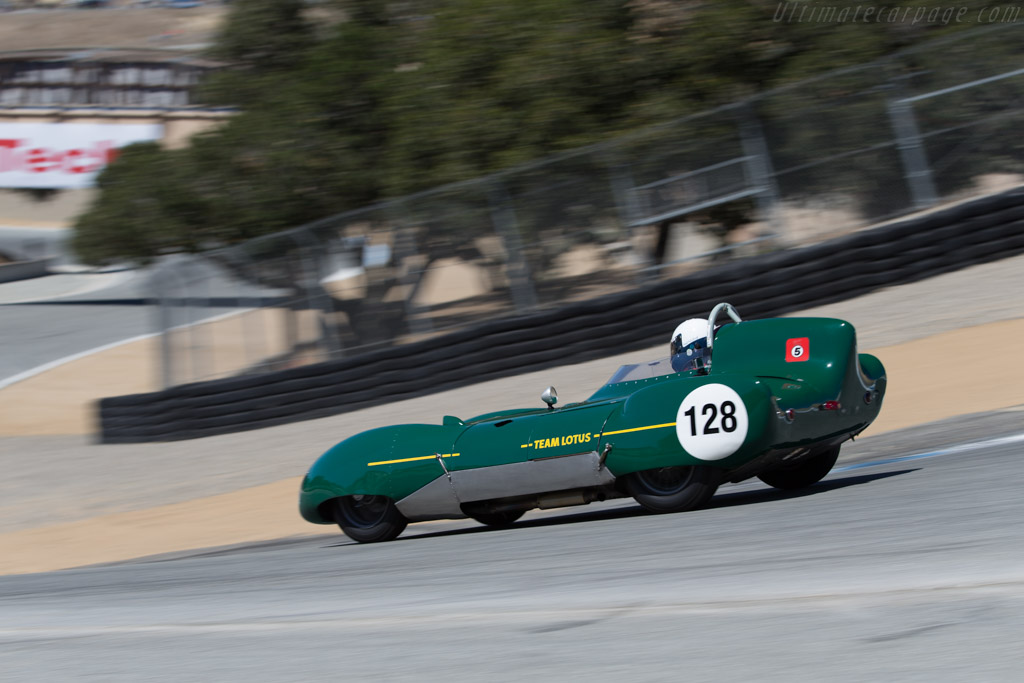 Lotus Eleven - Chassis: 220 - Driver: Mitch McCullough  - 2015 Monterey Motorsports Reunion