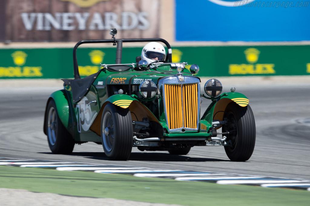 MG TD - Chassis: TD12190 - Driver: Karim Marouf  - 2015 Monterey Motorsports Reunion