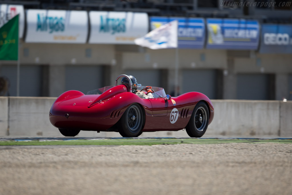 Maserati 200 SI - Chassis: 2425 - Driver: Ned Spieker  - 2015 Monterey Motorsports Reunion
