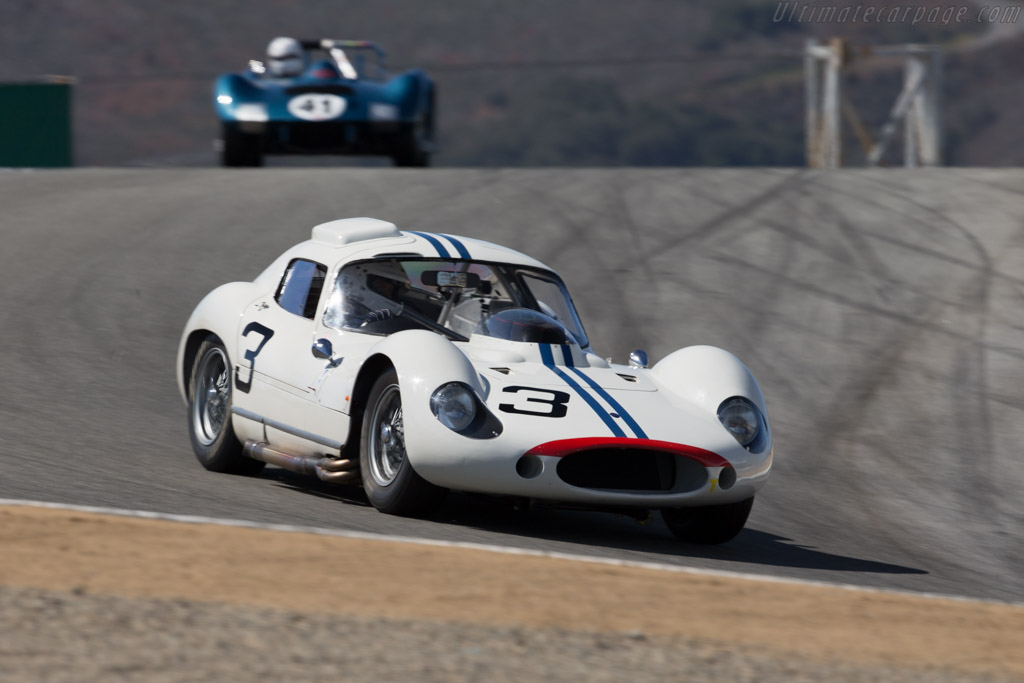 Maserati Tipo 151 - Chassis: 151.006 - Entrant: Larry Auriana - Driver: Joe Colasacco  - 2015 Monterey Motorsports Reunion