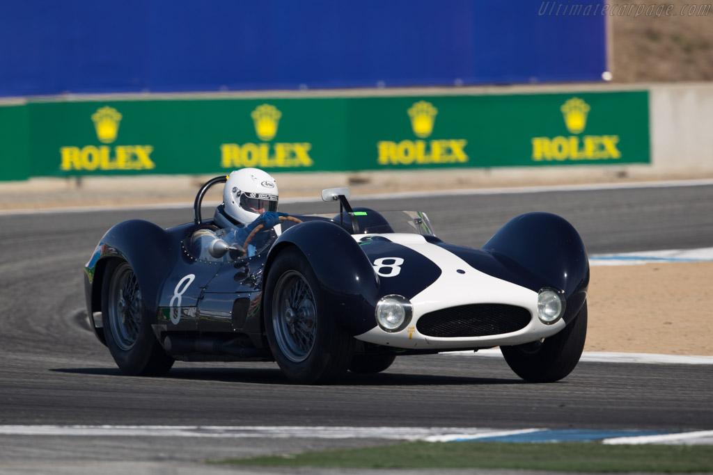 Maserati Tipo 61 - Chassis: 2464 - Driver: Jeffrey O'Neill  - 2015 Monterey Motorsports Reunion