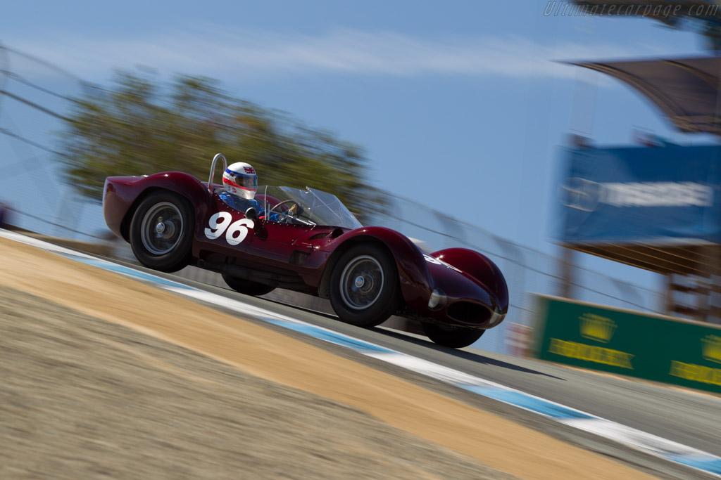 Maserati Tipo 61  - Driver: Derek Bell  - 2015 Monterey Motorsports Reunion
