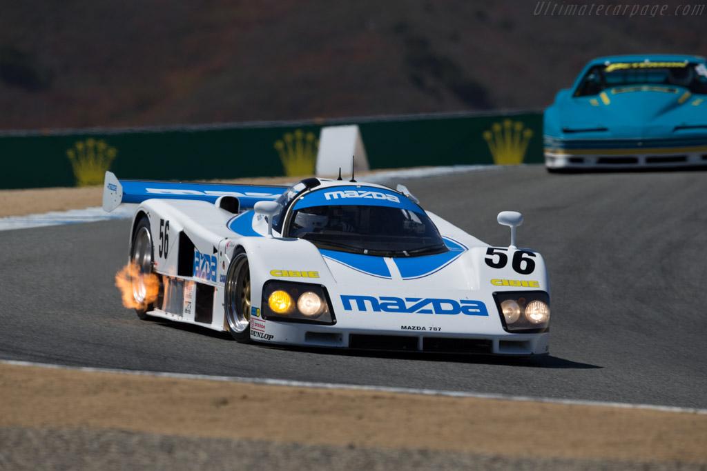 Mazda 787 - Chassis: 787 - 002 - Entrant: Mazda N.A. - Driver: Robert Davis  - 2015 Monterey Motorsports Reunion