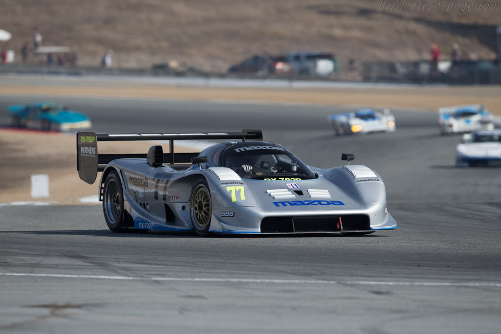 Mazda RX-7 GTP - Chassis: GTP 001 - Entrant: Mazda N.A. - Driver: Weldon Munsey  - 2015 Monterey Motorsports Reunion