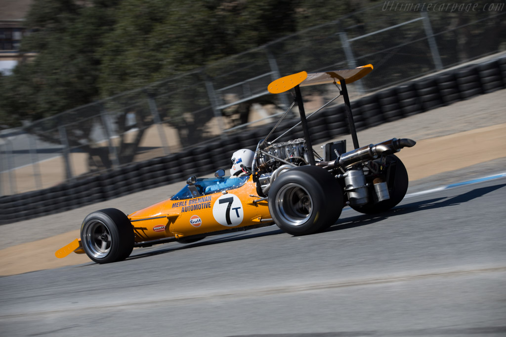 McLaren M10A - Chassis: 300-09 - Driver: Tony Roberts  - 2015 Monterey Motorsports Reunion